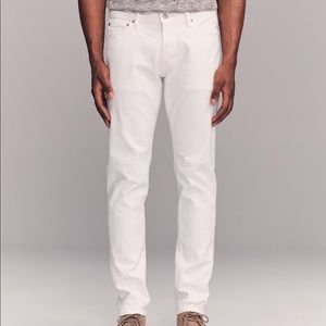 Abercrombie & Fitch Skinny Jeans - White